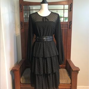 NWOT Eloquii tiered ruffle dress